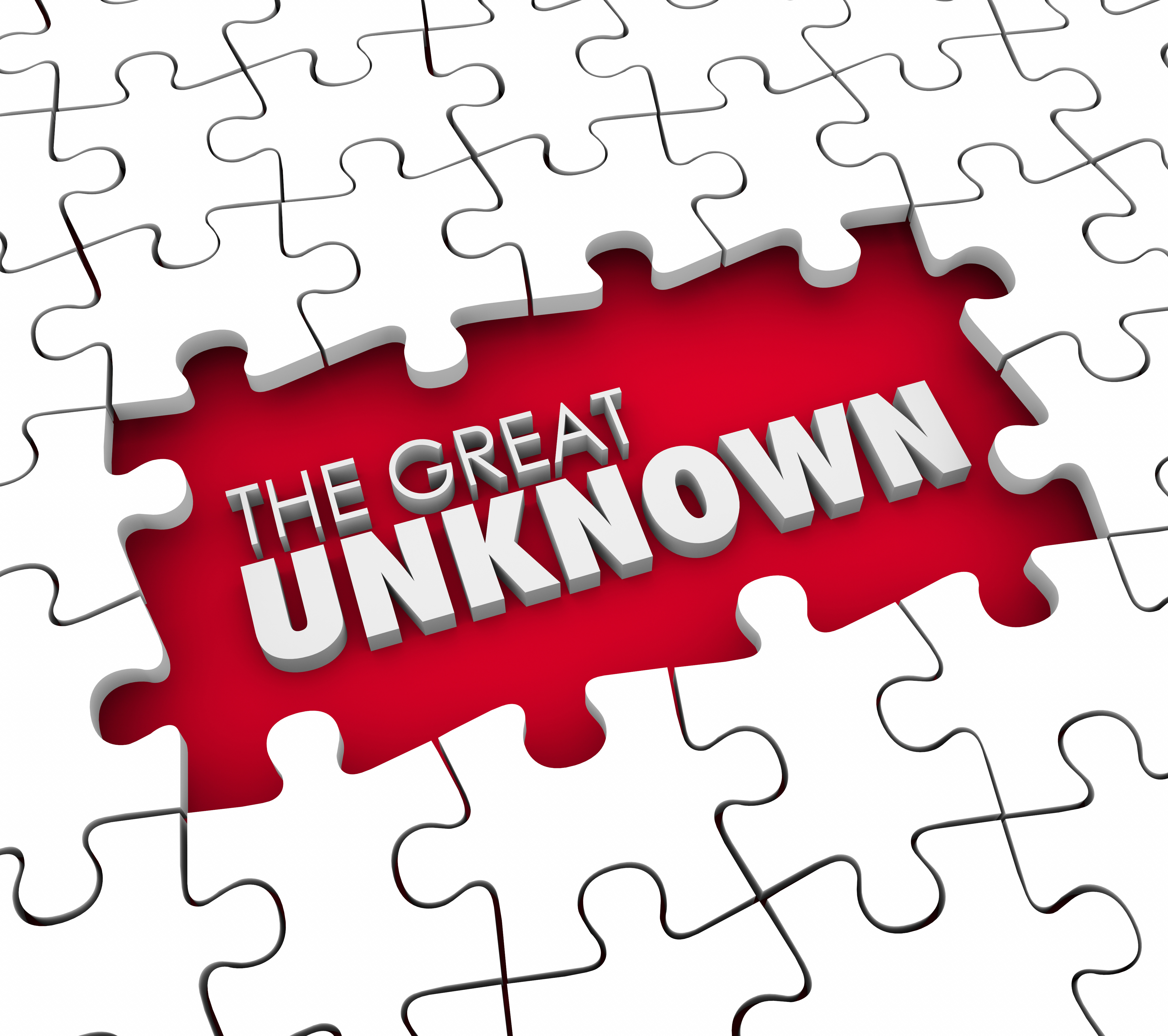 The Great Unknown Puzzle Pieces Hole Uncharted Exploration Adven