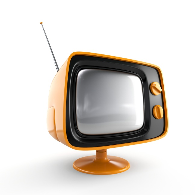 Stylish retro TV. More TV in my portfolio.