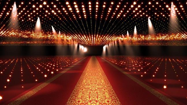Red Carpet Festival Glamour Scene