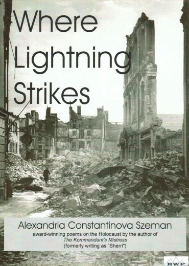 Where Lightning Strikes Poems on the Holocaust (cover)