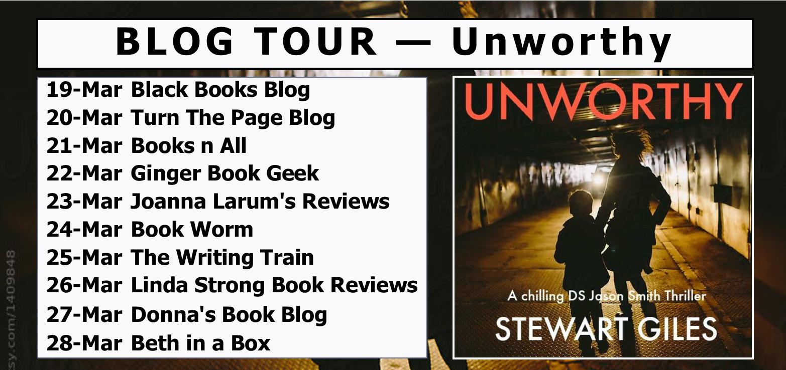 BLOG TOUR - Unworthy