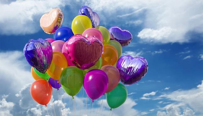 Celebration ballons