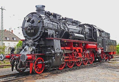 Steam train image A