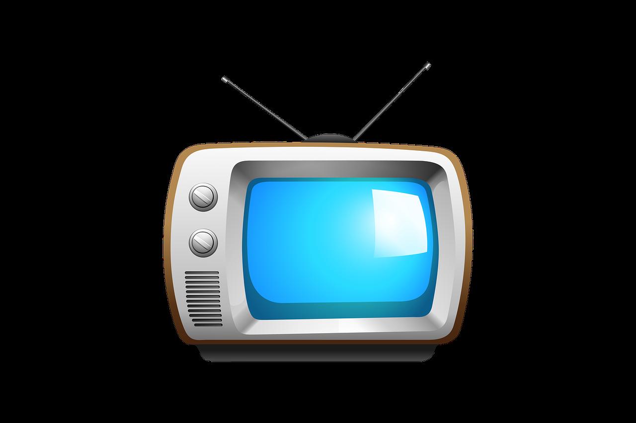 TV vintage cartoon image