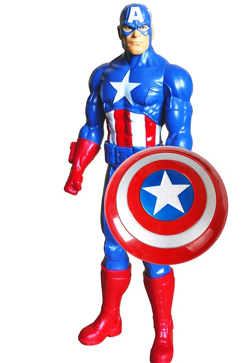 Captain america toy image