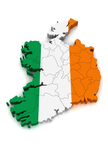 3D Map of Ireland