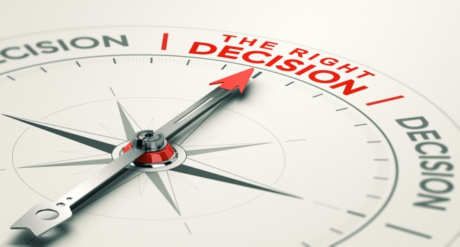 Business judgement. Making the right decision.